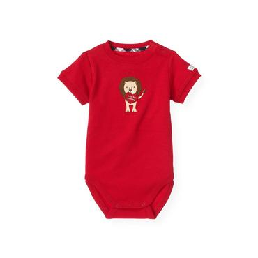Valentine Red Lion Valentine Bodysuit at JanieandJack