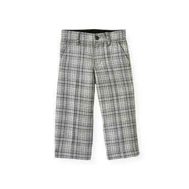 Winter Grey Plaid Plaid Pant at JanieandJack