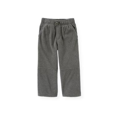 Gray Stone Heather Microfleece Pant at JanieandJack