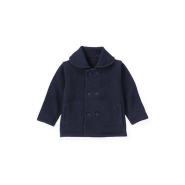 Baby Boy Nautical Navy Peacoat Cardigan at JanieandJack