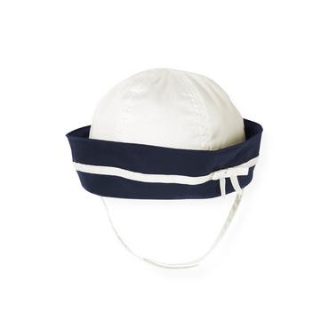 Jet Ivory Sailor Hat at JanieandJack
