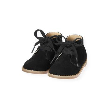 Classic Black Suede Desert Boot at JanieandJack