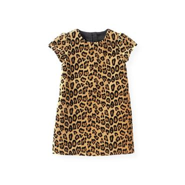 Leopard Leopard Velveteen Dress at JanieandJack