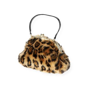 Leopard Leopard Faux Fur Purse at JanieandJack
