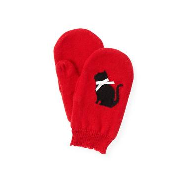 Cinnamon Red Kitty Mitten at JanieandJack