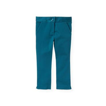City Blue Sateen Pant at JanieandJack