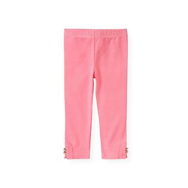 Azalea Pink Button Cuff Legging at JanieandJack