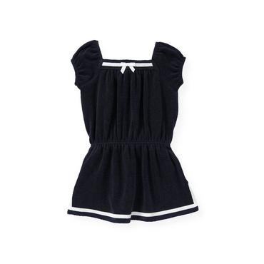 Resort Navy Sailor Terry Swim Cover-Up at JanieandJack