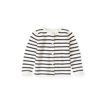 Nautical Stripe Stripe Cardigan at JanieandJack