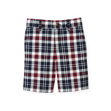 Boys Valentine Red Plaid Plaid Short at JanieandJack