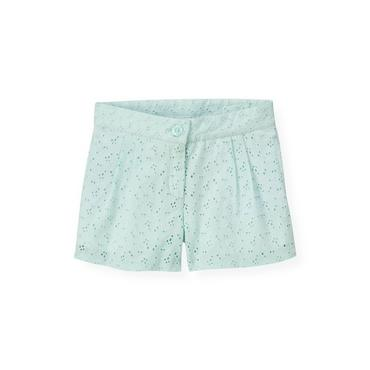 Starlight Blue Eyelet Short at JanieandJack