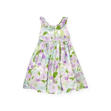 Purple Petunia Floral Ruffle Petunia Floral Dress at JanieandJack