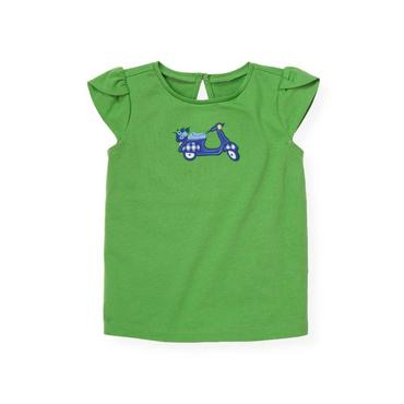 Spring Green Scooter Top at JanieandJack