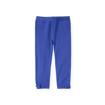 Bright Blue Bow Legging at JanieandJack