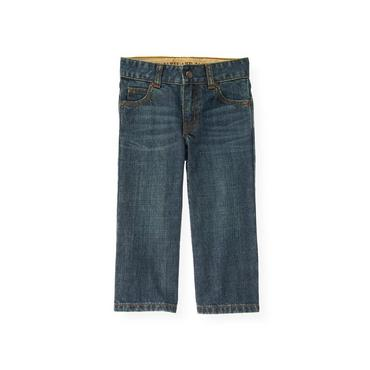Boys Crosshatch Indigo Wash Denim Jean at JanieandJack