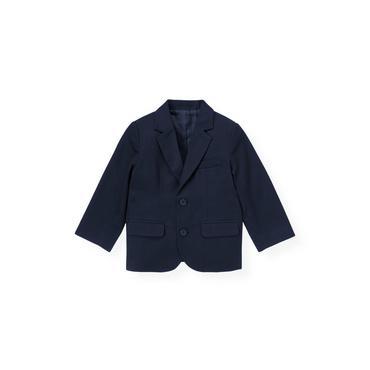 Classic Navy Twill Suit Blazer at JanieandJack