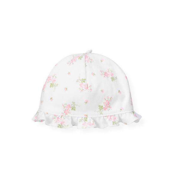 Floral Knit Hat