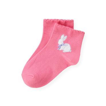 Butterfly Pink Bunny Sock at JanieandJack