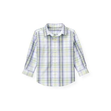 Purple Thistle Plaid Plaid Dress Shirt at JanieandJack