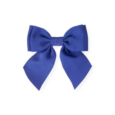Bright Blue Grosgrain Ribbon Bow Barrette at JanieandJack