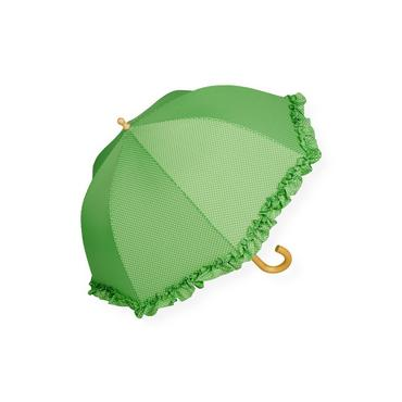 Spring Green Dot Dot Umbrella at JanieandJack