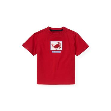 Boys Lobster Red Crab Tee at JanieandJack