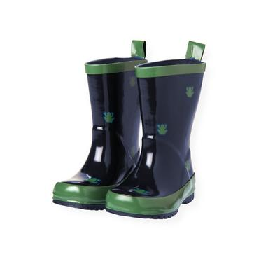 Spring Navy Frog Rainboot at JanieandJack