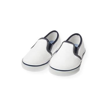 Pure White Slip-On Sneaker at JanieandJack