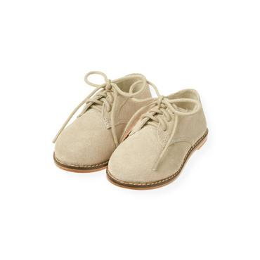 Classic Khaki Suede Oxford Shoe at JanieandJack