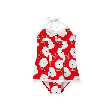 Poppy Poppy Floral One-Piece Swimsuit at JanieandJack
