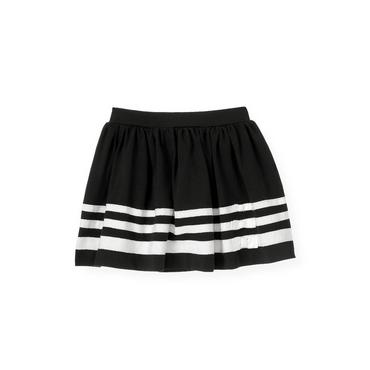 Classic Black Ribbon Stripe Skirt at JanieandJack