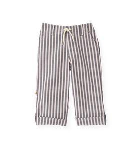 Stripe Roll Cuff Pant