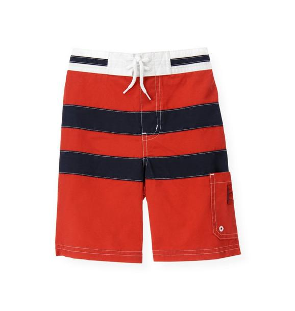 Pieced Swim Trunk