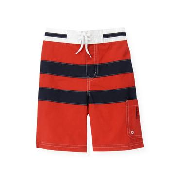 Beachfront Red Pieced Swim Trunk at JanieandJack