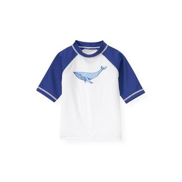 Pure White Whale Rash Guard at JanieandJack