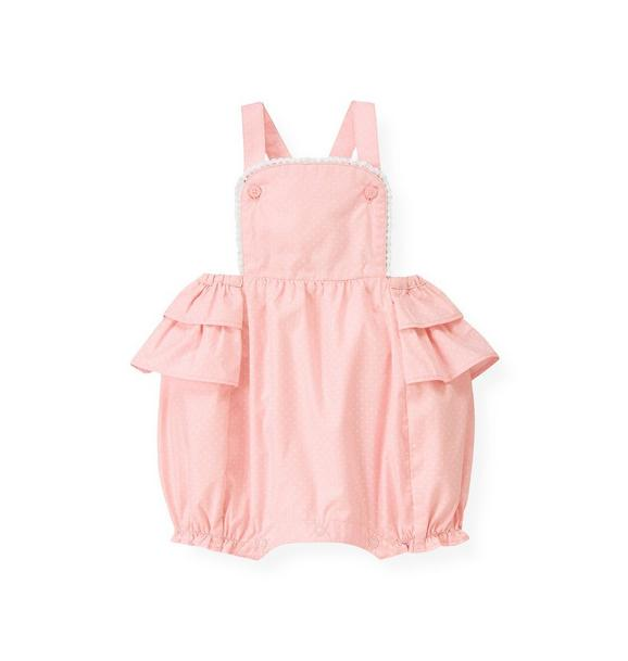 Ruffle Dotted Shortall