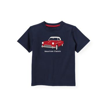 Boys American Navy American Classic Car Tee at JanieandJack