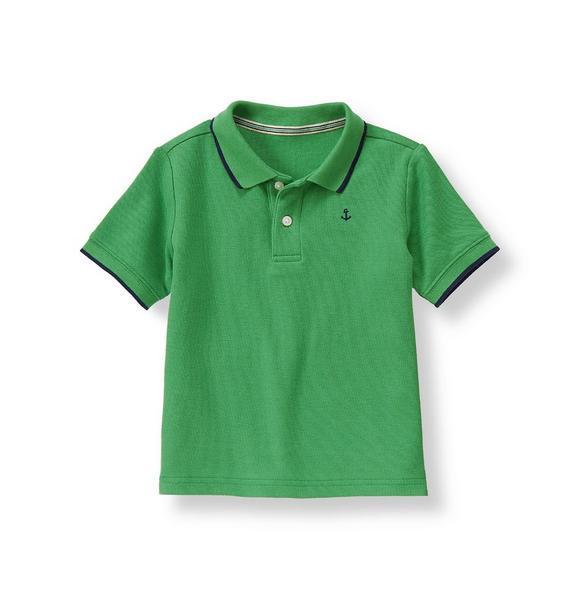 Anchor Tipped Polo Shirt
