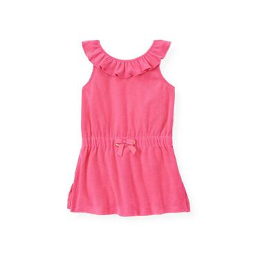 Azalea Pink Ruffle Swim Cover-Up at JanieandJack