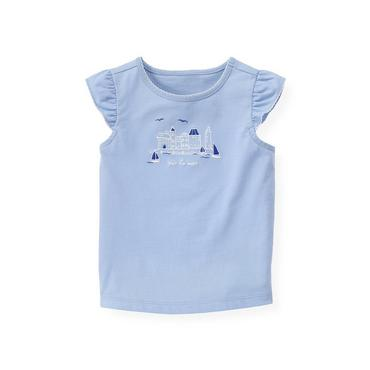 Sea Blue Seaside Top at JanieandJack