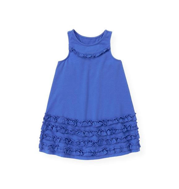 Ruffle Racer Back Knit Dress