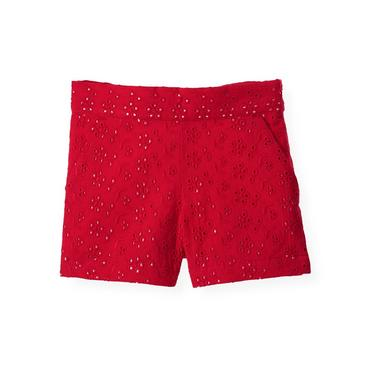 American Red Eyelet Short at JanieandJack