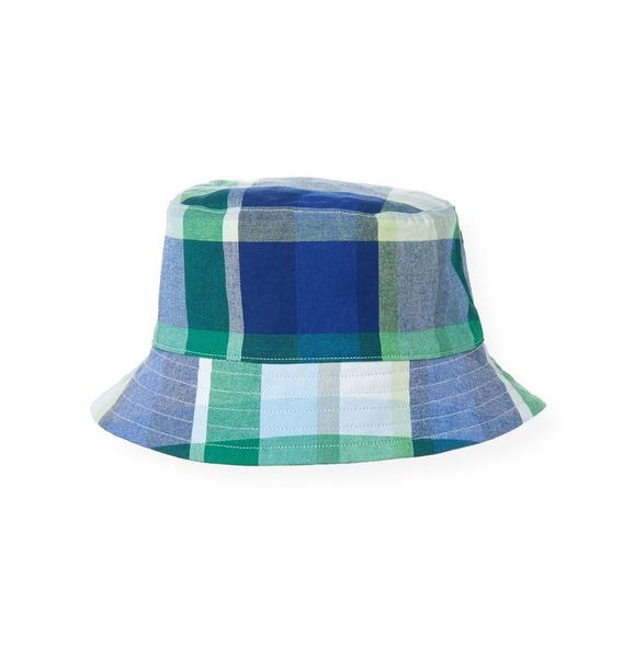 Reversible Plaid Bucket Hat