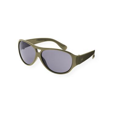 Boys Olive Green Aviator Sunglasses at JanieandJack