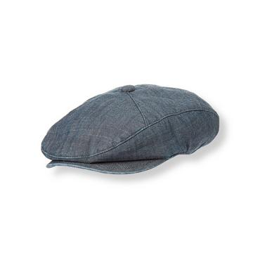 Boys Chambray Chambray Cap at JanieandJack