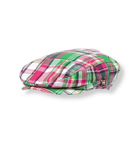 Patchwork Plaid Cap