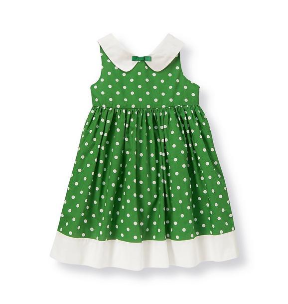 Collared Dot Dress