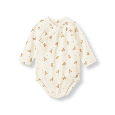 Honey Bear Honey Bear Print Bodysuit at JanieandJack