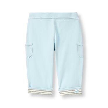 Feather Blue Pocket Knit Pant at JanieandJack