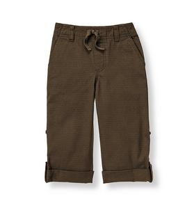Ripstop Roll Cuff Pant